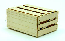 F/G scale BANTA MODEL WORKS #926 Wood Crate, 2 per kit with assembly fixture