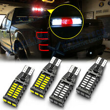 LED White Cargo Trunk Red 3rd Third Brake Light Bulb for Toyota Tundra 2000-2019