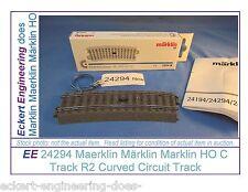 EE 24294 NEW C Track R2 Big Curve Circuit Track w Original Box f Signal Control