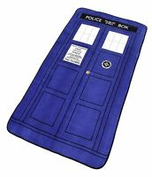 "Doctor Who Blanket -Dr. Who TARDIS Silk Touch Raschel Throw (50"" x 60"")"