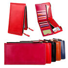 Women Clutch Wallet Long Purse Lady Leather Credit Card Holder Handbag Bag