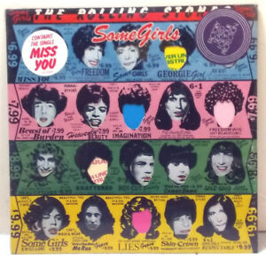 The Rolling Stones -  Some Girls - SECOND PRESS, CENSORED - HYPE STICKER SEALED