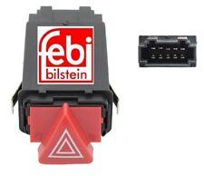 NEW FEBI AUDI A6 C5 DASH BOARD HAZARD WARNING LIGHT SWITCH WITH INDICATOR RELAY