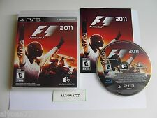 F1 2011 PS3 (Sony Playstation 3, 2011) Great Condition, Adult Owned.