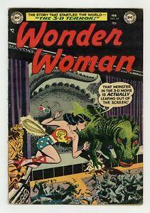 Wonder Woman #64 VG+ 4.5 1954