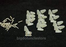 143: 12x Control Horns (13x16mm) with Screws ,Nylon , Parts for RC Airplane