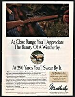 1992 WEATHERBY Classicmark Rifle PRINT AD