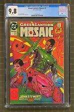 GREEN LANTERN Mosaic #1 DC Comics 1992 CGC 9.8