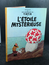 Bd Tintin - L'étoile mystérieuse - C1 1975/76 - TBE