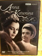 ANNA KARENINA:3 TV Adaptations-Bloom/Connery/Pagett/McCrory/McKidd/Dillane 6DVDs