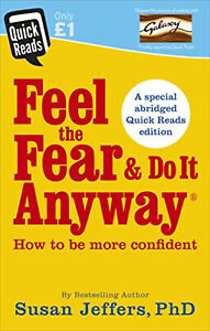 Feel the Fear and Do it Anyway SELF HELP Motivation Book Susan Jeffers Paperbak