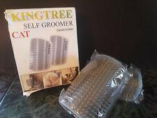 Kingtree Cat Self Groomer 2 Pk Cats Corner Groomers Soft Wall Massage Combs 2499