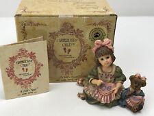 Yesterday's Child Dollstone Collection Boyds Alyssa w/ Caroline A Stitch in Time