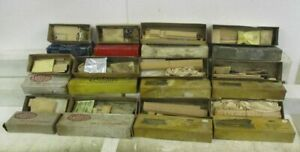 AMBROID HO SCALE WOOD TRAIN CAR KIT LOT (12 INCLUDED!)