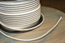 Weiß 2-Wire Tuch Bedeckt Kordel, 18ga. Vintage Stil Lampen Antik Licht, Viskose