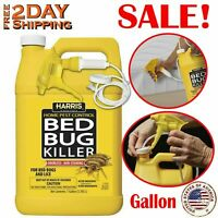 Harris Bed Bug Killer Kit Spray With Odorless And Non-Staining Formula Gallon