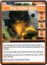 Pathfinder Adventure Card Game: Wrath of the Righteous-Pig From Hell Promo Card