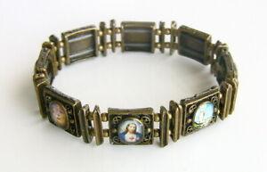 Armband mit Heiligenmotiven, Pulseira, Brasilien, NEU