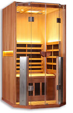 Clearlight Sanctuary I Full Spectrum One Person Infared Sauna/ Cedar