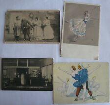 4 Postcards USSR Russian Ballet, theater.