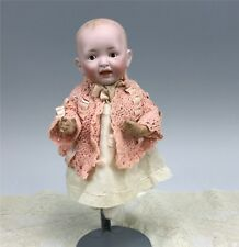 "Antique German Bisque Kestner JDK 7 11"" Character Baby Doll"