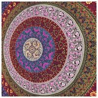 Psychedelic Twin Tapestry Hippie Mandala Bohemian Tapestries Indian Dorm Decor