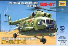 Mil Mi-8 Hip C (SOVIET/RUSSIAN marquage) #7230 1/72 Zvezda
