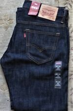 Levi's Men's NWT 569 0127 30x30 Ice Cap Blue Raw Unwashed Loose Straight Jeans