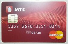 Russia Mastercard Credit Card MTS Bank