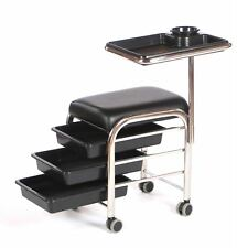 Urbanity manicure nail hair station beauty salon trolley chair stool table bx
