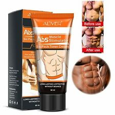 Crema delgada crema de músculo abdominal elimina la celulitis quemador de gra