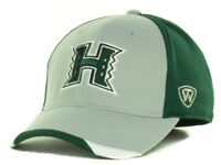 Hawaii Warriors Top of the World Grizzly NCAA College Stretch Fit Cap Hat OSFM