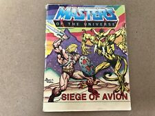 Vintage Retro Amos del Universo (Amos del universo) Mini Comic asedio DE AVION