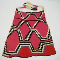 Vintage Traditional Hand Woven Papua New Guinea Bilum Bag Tribal