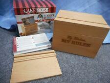 RECIPE BOX CAKE BOSS