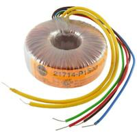 Talema 21714-P1S02 Trafo 50VA 230V 2x22V 2x1,14A Ringkern-Transformator 856923