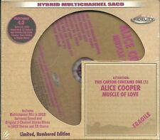 Cooper, Alice Muscle Of Love Hybrid-SACD Audio Fidelity NEU OVP Sealed Limited E