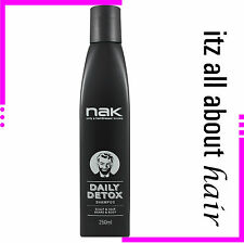 Nak  Daily Detox Shampoo 250ml Genuine Nak Products Approved Stockist
