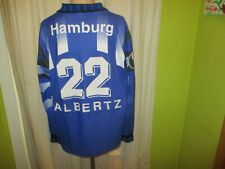 Hamburger SV uhlsport Langarm Auswärts Trikot 1995/96 + Nr.22 Albertz Gr.XL