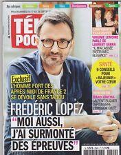 Télépoche 09/2016 - Frédéric Lopez - Valérie lemoine, laurent Gerra