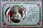 WWI Soldaten Postkarte A Child Praying Art Song Postcard War Propaganda 1915