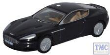 76AMDB9002 Oxford Diecast OO Gauge Aston Martin DB9 Coupe Onyx Black
