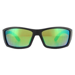 Costa Del Mar Sunglasses Corbina CB11 GFOGMP Black Green Mirror Polarized Glass