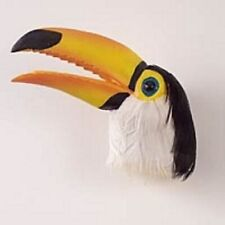 Toucan White Breast Feather Magnet. Collect Animal And Birds. Great Gifts.