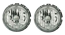 2 PHARE ANGEL EYES VW VOLKSWAGEN GOLF 1 CABRIOLET FEUX AVANT CHROME CRISTAL
