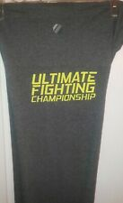 New $65 Combat UFC Women's Ultimate Fighting Championship Gray Sweat Pants Large