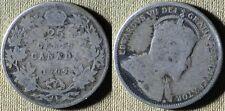 Canada : 1909 25Ct  VG # 11  IR5987