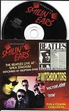 CD  CD-ROM CARDSLEEVE COLLECTOR SMILIN' EARS THE BEATLES LIVE AT SHEA STADIUM