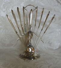 Set 12 coltellini con supporto Swedish Art Deco 12 Dessert Knives with Stand