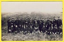 cpa CARTE PHOTO Officiers du 37e Régiment Militaires Uniformes